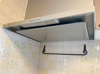 小工事 掃除がしやすく、より強力な換気機能の付いたレンジフード