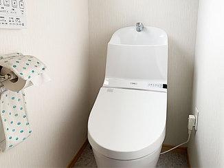 トイレリフォーム トイレと内装を一新した快適なレストルーム