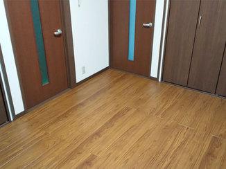 内装リフォーム 和室から、お手入れしやすいフローリングの洋室へ