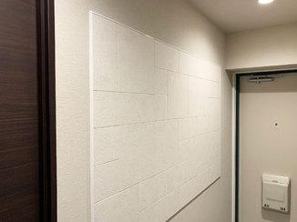 小工事 玄関まわりをおしゃれに調湿できるエコカラット