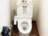 トイレリフォームお掃除しやすい便器&床が嬉しい快適なトイレ